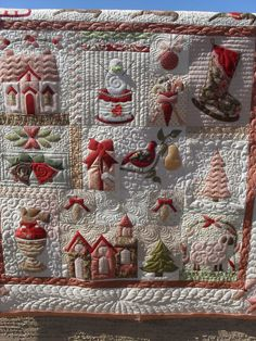https://flic.kr/p/a6e1ZJ | Christmas | Pieced by Laura Carapollese Quilted by Jessica's Quilting Studio