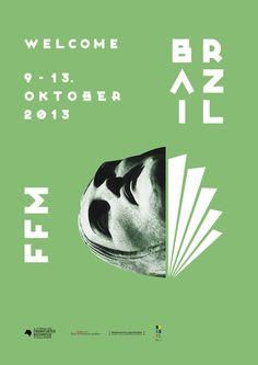 Poster Design for Frankfurt Book Fair 2013 by Florian Hierholzer For more informations www.florianhierholzer.de