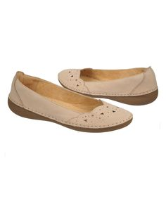 Look at this Gingersnap Kipper Leather Flat on #zulily today!