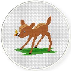 FREE Little Fawn Cross Stitch Pattern