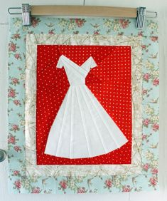 """Piecing A Love Story"" lovely post by Amy Gibson at Stitchory Dickory Dock"