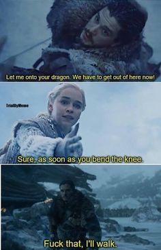 Game Of Thrones Memes 2019 - he has, but still good lol - Hintergrundbilder Art Game Of Thrones Meme, Arte Game Of Thrones, Lol, Game Of Thrones Instagram, Game Of Thones, King In The North, Got Memes, Nerd Humor, Mother Of Dragons