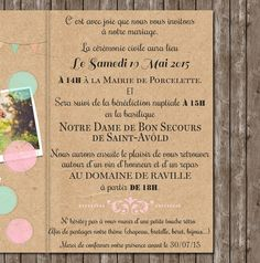 Fresh Wedding invitation Countryside Wedding