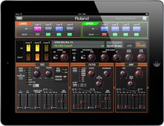 Roland - JUPITER-80 | Synthesizer JP Synth Editor is an iOS app for both the Jupiter-80 and Jupiter-50