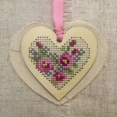 A personal favourite from my Etsy shop https://www.etsy.com/uk/listing/267830242/hanging-heart-decoration-cross-stitch