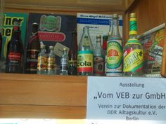 Intershop 2000 in Friedrichshain. Shop and exhibition about daily life in the GDR