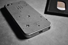iPhone case - cemento