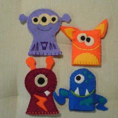monster finger puppets...party favors