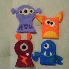 love felt finger puppets... still!