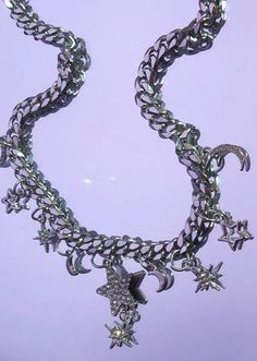 the celestial chain - PRE ORDER SHIPPING LATE JULY – discotonic Stainless Steel Chain, Sterling Silver Chains, Sparkle, Celestial, Jewels, How To Make, Jewerly, Gemstones, Fine Jewelry