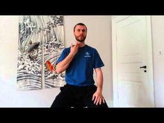 Effektivt nakkestræk til afhjælpning af hovedpine og kæbespændinger - YouTube