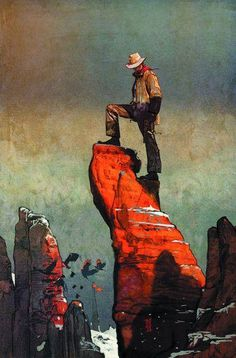 The Dark Tower:The Gunslinger cover by Alex Maleev