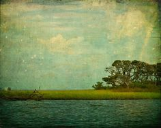 Art Print, Wall Decor, Home Decor, Dream of Water and Sky. 16x20 Fine Art Landscape Photograph by Tricia McKellar. No. 6527