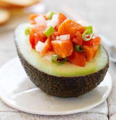 Tops Friendly Markets - Recipe: Lomi Lomi Salmon in a California Avocado Half