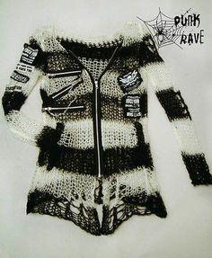 Unisex+Visual+Kei+Punk+Gothic+lolita+Japan+fashion+rock+shirt+Sweater+top+w