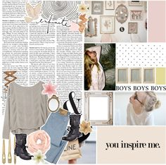 """""""// head under water and they tell me to breathe easy for a while the breathing gets harder, even I know that. ♥"""" by lillyisabanana ❤ liked on Polyvore"""