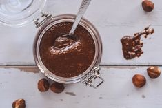 cukormentes nutella Chocolate Fondue, Nutella, Sugar Free, Mousse, Eat, Desserts, Food, Tailgate Desserts, Deserts