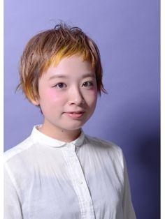 インナーカラーでおしゃれ上級ヘア!個性を出したい方必見!(2ページ目) - curet [キュレット] まとめ Bleach Color, Very Short Hair, Creative Colour, Great Hair, Soft Colors, Haircolor, Her Hair, Short Hair Styles, Hair Makeup