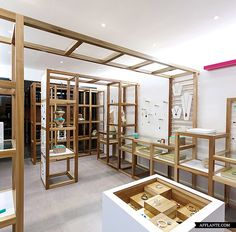 Jewerly shop interior concept stores visual merchandising new Ideas Boutique Interior, Shop Interior Design, Retail Design, Interior Decorating, Studio Interior, Visual Merchandising, Boutiques, Jewelry Store Design, Jewelry Shop