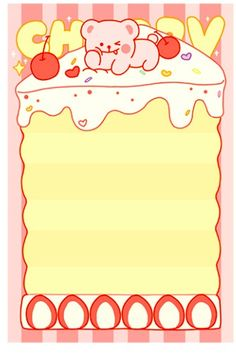 This is really cute memo set, perfect for memo, or gift to your friends. 100 sheets - Material: Paper - Size: x - NOT self-adhesive Notebook Paper Printable, Printable Scrapbook Paper, Korean Stationery, Kawaii Stationery, Bullet Journal Lettering Ideas, Washi, Memo Template, Korean Stickers, Folders
