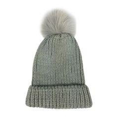 Tonal pom hat (with light brown additional pom) Bb Style, Pom Pom Hat, Winter Hats, Bee, Shopping, Fashion, Moda, Honey Bees, Fashion Styles