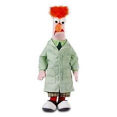 Amazon.com: The Muppets Exclusive 17 Inch DELUXE Plush Figure Beaker: Toys & Games