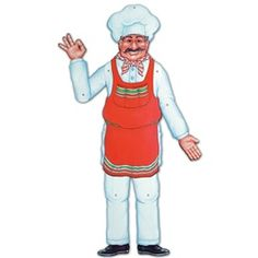 If you have children at the party they could play pin the mustache or Chef's hat on the Italian pizza Maker!