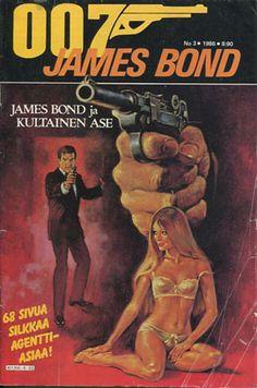 James Bond -sarjakuvalehdet