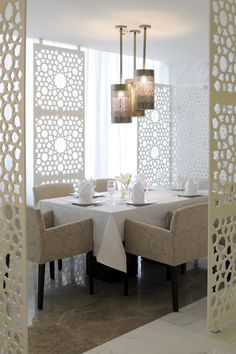 Arabic restaurant serving arabic gulf food. concept and design by DLG