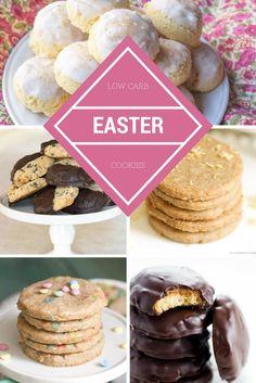 18 EASY Sugar-Free Low Carb Easter Cookies