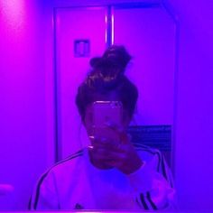 but look how amazing this lighting is? it was in the airplane bathroom. you wouldnt know it but i spent 10 hours of vomiting from food… Violet Aesthetic, Bad Girl Aesthetic, Aesthetic Colors, Aesthetic Photo, Aesthetic Pictures, Girl Pictures, Girl Photos, Tumbrl Girls, Profile Pictures Instagram