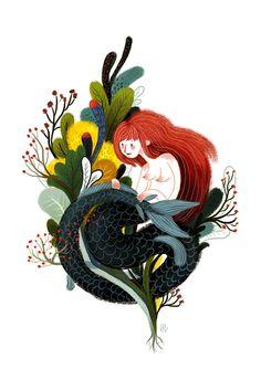 (via Little Mermaid on Behance)