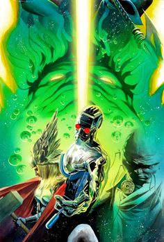 Universe X #7 by Alex Ross *