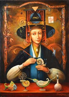 THE COLLECTOR, Boris Shapiro (Ukrainian-Israeli Artist was born in 1968 in Lvov, Ukraine; since 1991 lives in Israel)