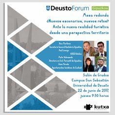 La Universidad de Deusto Donostia-San Sebastián te invita a la conferencia debate, que será abierta por el Diputado de Cultura, Turismo, Juventud y Deportes, Denis Itxaso Toda la info, pinchando sobre la imagen.