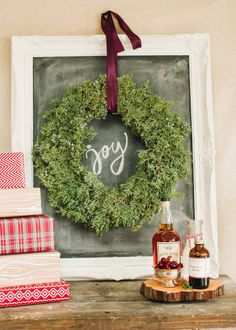 Holiday wreath: http://www.stylemepretty.com/2015/11/16/holiday-decor-ideas-that-wont-make-you-cringe/ Photography: Bring to Light - http://bringtolightphotography.com/
