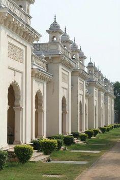 Chowmahalla Palace, Hyderabad old city. India Architecture, Ancient Architecture, Pakistan Travel, India Travel, India Palace, Heritage Hotel, Amazing India, Tourist Sites, Hampi