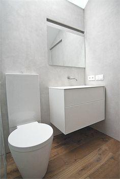 House 1 - Single House in Quesa - Quesa, Spain - 2012 - DOT PARTNERS #design #bathroom #white #minimal Minimal Bathroom, White Bathroom, Bathroom Wall, Modern Bathroom, Restroom Design, Bathroom Interior Design, Bathroom Plans, Bathroom Cleaning, White Wall Decor