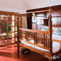 Just a stone's throw away from the Periyar Tiger Reserve is CGH Earth's Spice Village. Built to complement the forest's ethos, the cottages here (amongst various other things) are built for comfort and are ecologically sensitive. Here is a glimpse of the bedrooms. #CGHEarthExperiences