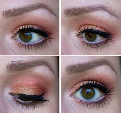 Eye Make Up with Sleek Sunset Palette