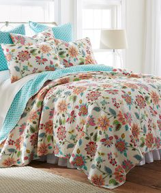 Look what I found on #zulily! Chatelet Bright Quilt Set #zulilyfinds