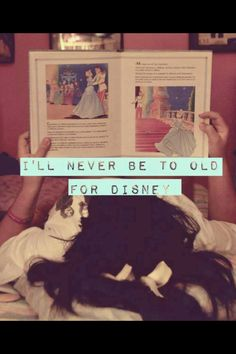 I'll never be too old for Disney <3