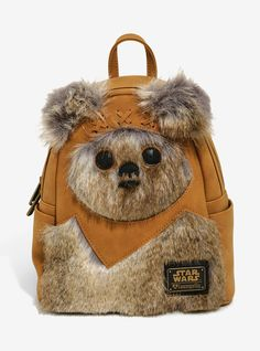 7db4ed98aaaf Loungefly Star Wars Ewok Mini Backpack