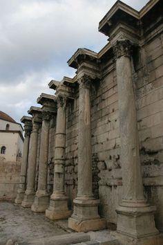 Athenes Antique Quartier Plaka Agora Romaine Athenes
