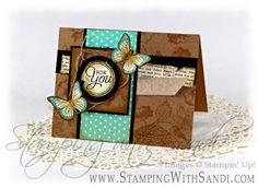 Stampin Up Backyard Basics card by Sandi @ www.stampingwithsandi.com