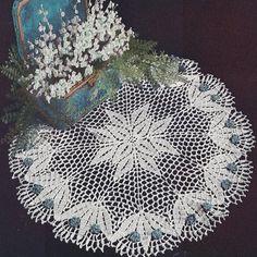 Free Crochet Patterns Valley Lily Doily Pattern