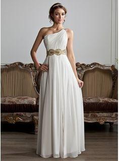 Brudklänning greekstyle