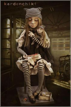 Art doll by Kardenchiki