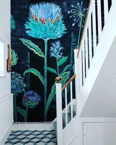Giant botanical wall