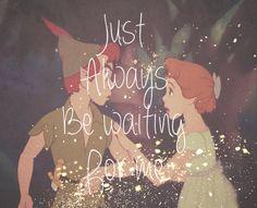 Peter Pan and Wendy  #neverland  #peterpan